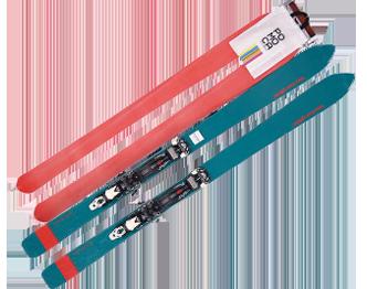 山スキーの画像