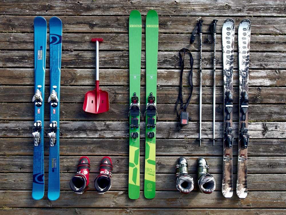 スキー板の画像